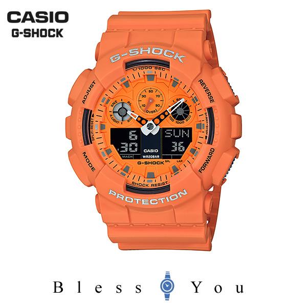 CASIO G-SHOCK カシオ 腕時計 メンズ Gショック 2019年5月新作 ホットロックサウンズ GA-100RS-4AJF 13,5