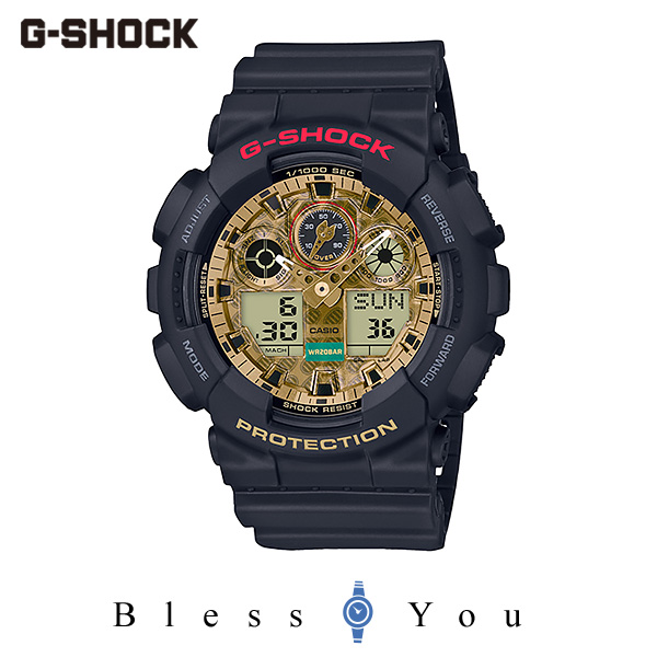CASIO G-SHOCK カシオ 腕時計 メンズ Gショック 2020年1月新作 MANEKINEKO GA-100TMN-1AJR 17,0
