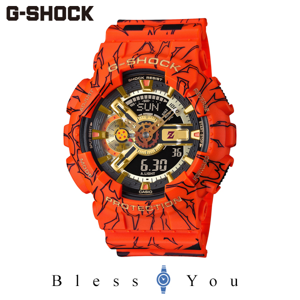 G-SHOCK Gショック 腕時計 メンズ CASIO カシオ ドラゴンボール 2020年8月 GA-110JDB-1A4JR 24,0