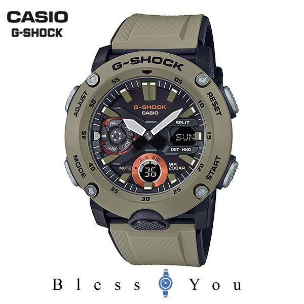 CASIO G-SHOCK カシオ 腕時計 メンズ Gショック 2019年4月新作 カーボンコアガード GA-2000-5AJF 16,0