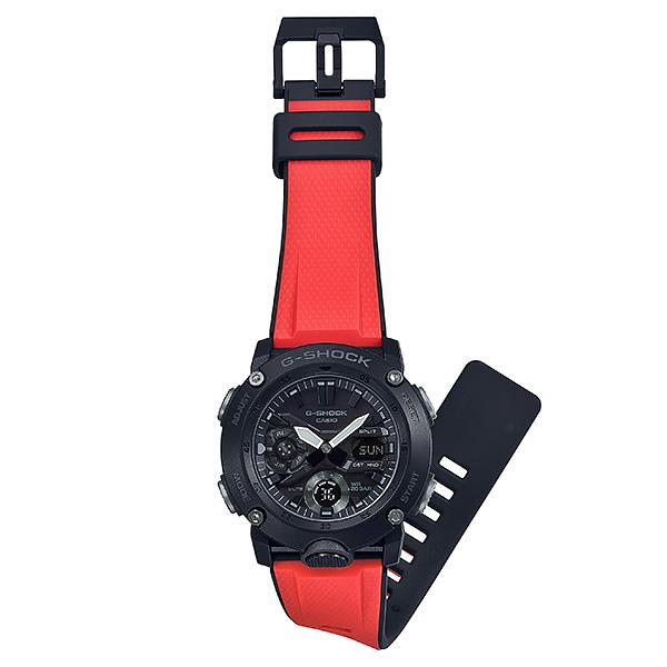 CASIO G-SHOCK カシオ 腕時計 メンズ Gショック 2019年3月新作 バンドセット GA-2000E-4JR 20,0