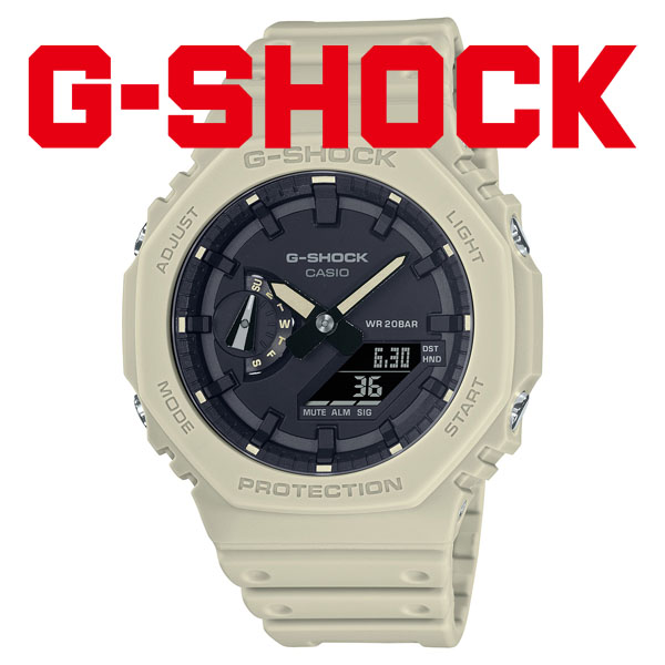 CASIO G-SHOCK カシオ 腕時計 メンズ Gショック 2021年8月 GA-2100-5AJF 13,5