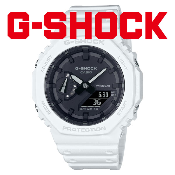 CASIO G-SHOCK カシオ 腕時計 メンズ Gショック 2021年8月 GA-2100-7AJF 13,5