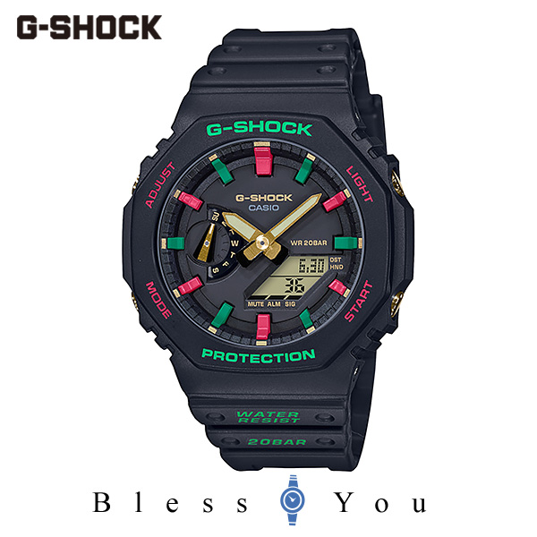 CASIO G-SHOCK カシオ 腕時計 メンズ Gショック 2019年11月新作 Throwback 1990s GA-2100TH-1AJF 14,5