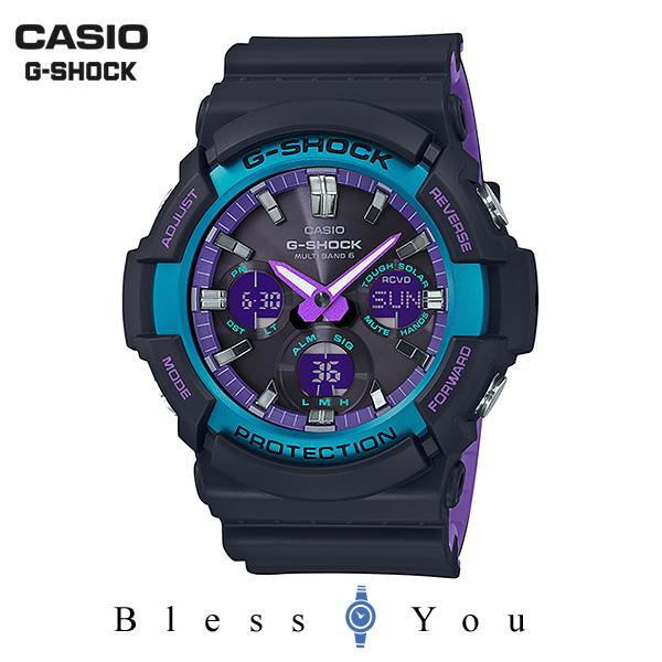 CASIO G-SHOCK カシオ ソーラー電波 腕時計 メンズ Gショック 2019年4月新作 GAW-100BL-1AJF 26,0