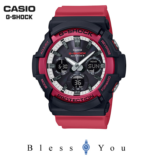 CASIO G-SHOCK カシオ ソーラー電波 腕時計 メンズ Gショック 2019年5月新作 GAW-100RB-1AJF 25,0