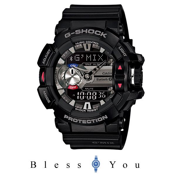 [カシオ]CASIO 腕時計 G-SHOCK Bluetooth搭載 G'MIX GBA-400-1AJF メンズ