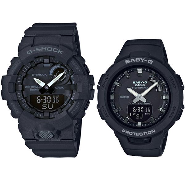 ペアウォッチ G-SHOCK&BABY-G G-SQUAD ジースクワッド 腕時計 GBA-800-1A-BSA-B100-1AJF 32,0 ジーショック