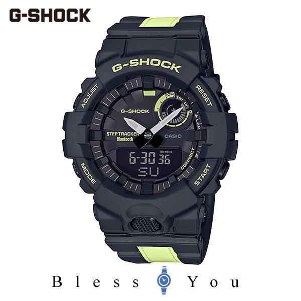 CASIO G-SHOCK カシオ ソーラー電波 腕時計 メンズ Gショック 2019年11月新作 G-SQUAD GBA-800LU-1A1JF 17,5