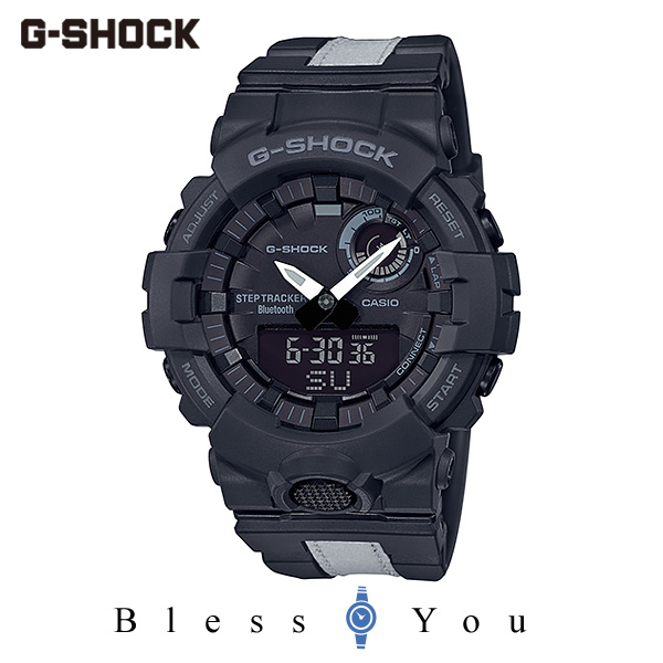 CASIO G-SHOCK カシオ ソーラー電波 腕時計 メンズ Gショック 2019年11月新作 G-SQUAD GBA-800LU-1AJF 17,5
