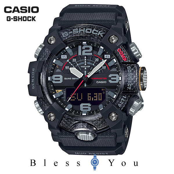 CASIO G-SHOCK カシオ 腕時計 メンズ Gショック 2019年7月新作 マッドマスター GG-B100-1AJF 45,0