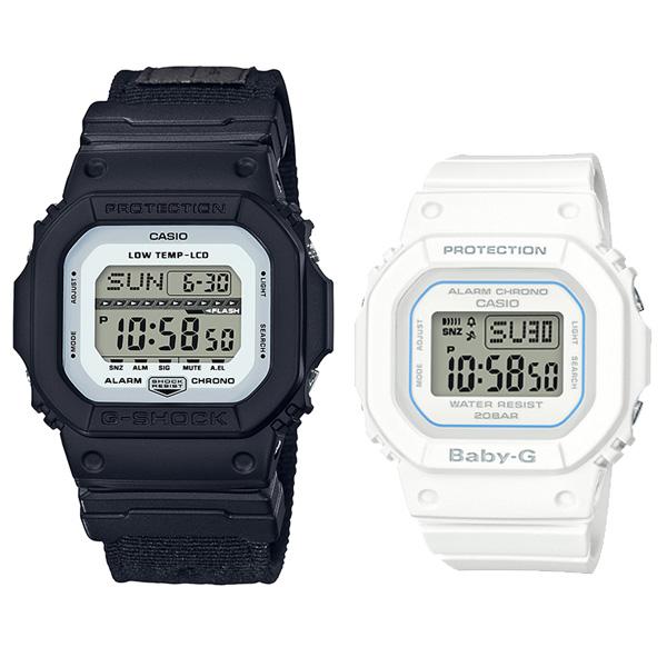 [05n]ペアウォッチ G-SHOCKペア デジタル GLS-5600CL-1JF-BGD-560-7JF 23,5