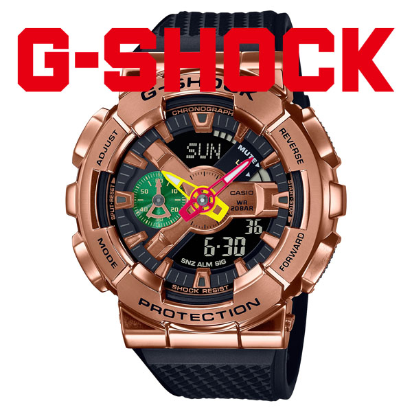 G-SHOCK Gショック 腕時計 メンズ CASIO カシオ 2021年9月 GM-110RH-1AJR 43,0