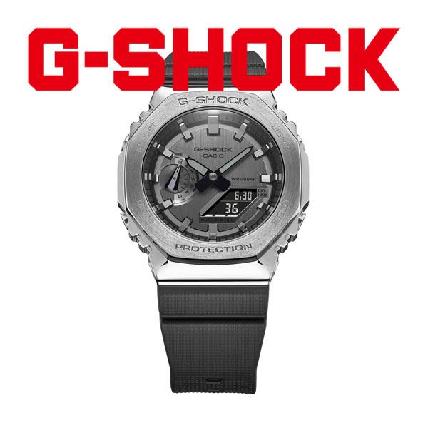 CASIO G-SHOCK カシオ 腕時計 メンズ Gショック 2021年8月 GM-2100-1AJF 24,0