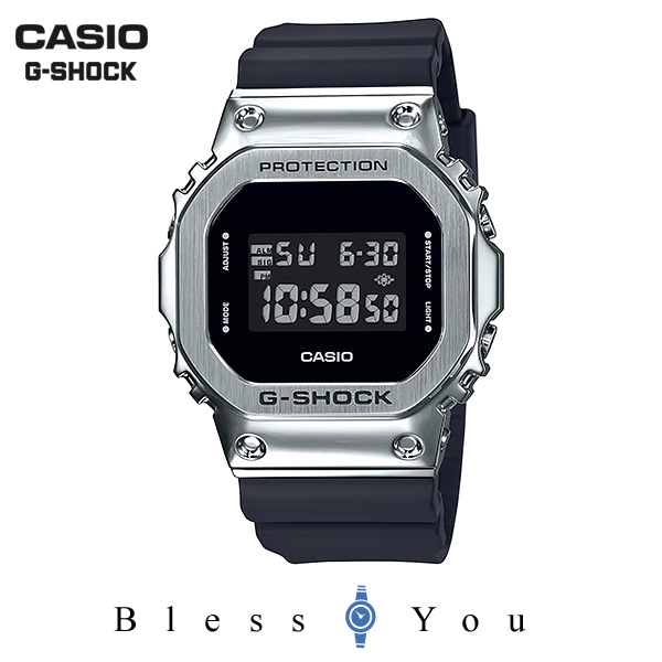 CASIO G-SHOCK カシオ 腕時計 メンズ Gショック メタルベゼル 2019年9月新作 GM-5600-1JF 22,0