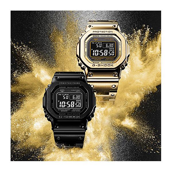 CASIO G-SHOCK カシオ 電波ソーラー 腕時計 メンズ Gショック 2018年9月 GMW-B5000GD-1JF 68,0