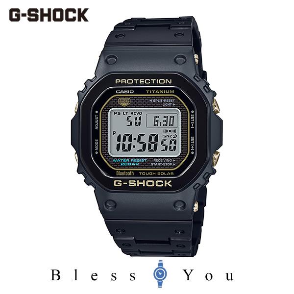 CASIO G-SHOCK カシオ ソーラー電波 腕時計 メンズ Gショック 2019年11月新作 チタン GMW-B5000TB-1JR 150,0
