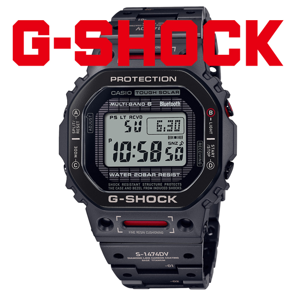 G-SHOCK Gショック ソーラー電波 腕時計 メンズ CASIO カシオ 2021年10月 GMW-B5000TVA-1JR 180,0