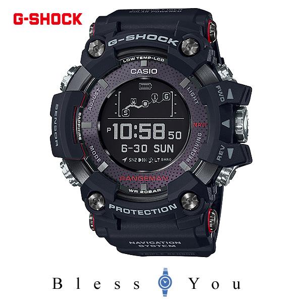 CASIO G-SHOCK カシオ ソーラー 腕時計 メンズ Gショック 2018年3月新作 GPR-B1000-1JR 100,0