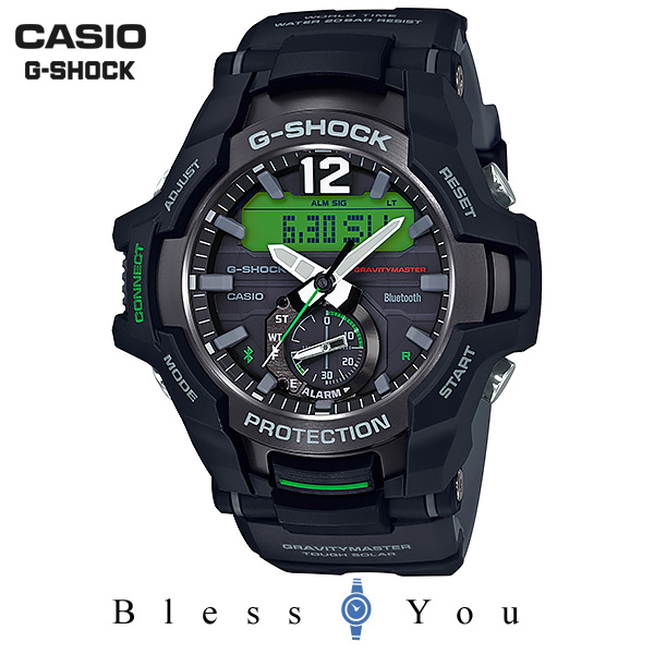 CASIO G-SHOCK グラビティマスター カシオ 腕時計 メンズ Gショック 2018年7月新作 GR-B100-1A3JF 40,0