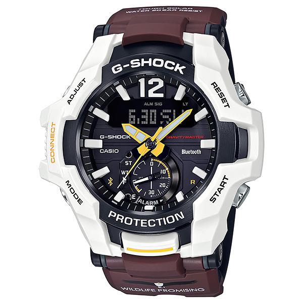 CASIO G-SHOCK カシオ ソーラー 腕時計 メンズ Gショック 2019年2月新作 WILDLIFE PROMISING サンショクウミワシ GR-B100WLP-7AJR 43,0
