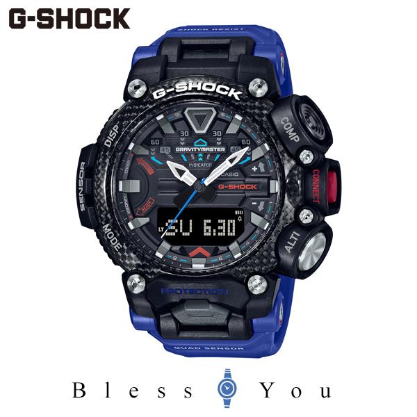 CASIO G-SHOCK グラビティマスター カシオ 腕時計 メンズ Gショック 2020年8月 GR-B200-1A2JF 42,0