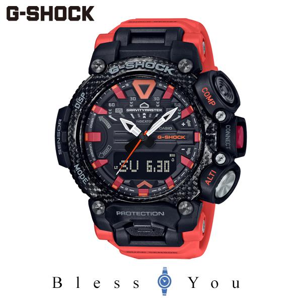 CASIO G-SHOCK グラビティマスター カシオ 腕時計 メンズ Gショック 2020年8月 GR-B200-1A9JF 42,0