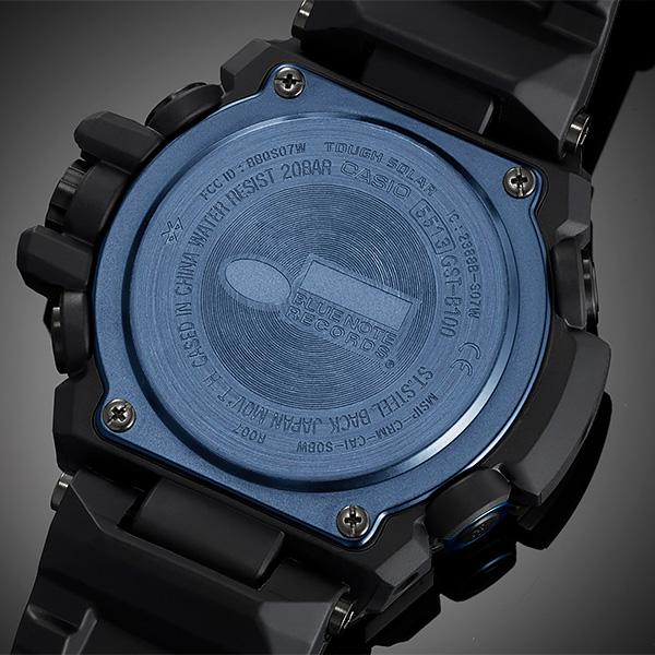 CASIO G-SHOCK カシオ ソーラー 腕時計 メンズ Gショック 2019年3月新作 G-STEEL ブルーノートレコーズ GST-B100BNR-1AJR 60,0