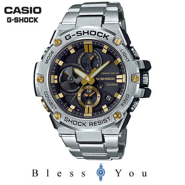 CASIO G-SHOCK カシオ ソーラー 腕時計 メンズ Gショック GST-B100D-1A9JF 55,0