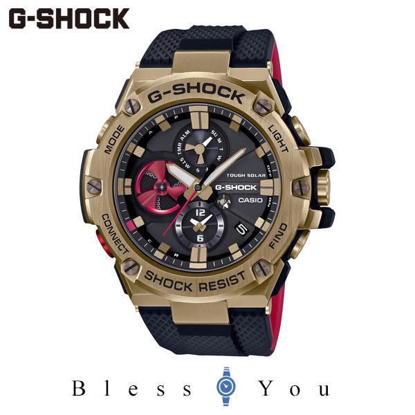 CASIO G-SHOCK カシオ ソーラー 腕時計 メンズ Gショック  G-STEEL 2020年8月 GST-B100RH-1AJR 62,0 八村塁