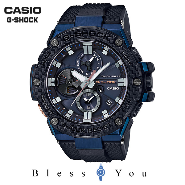 CASIO G-SHOCK カシオ ソーラー 腕時計 メンズ Gショック 2018年11月新作 G-STEEL GST-B100XB-2AJF 85,0