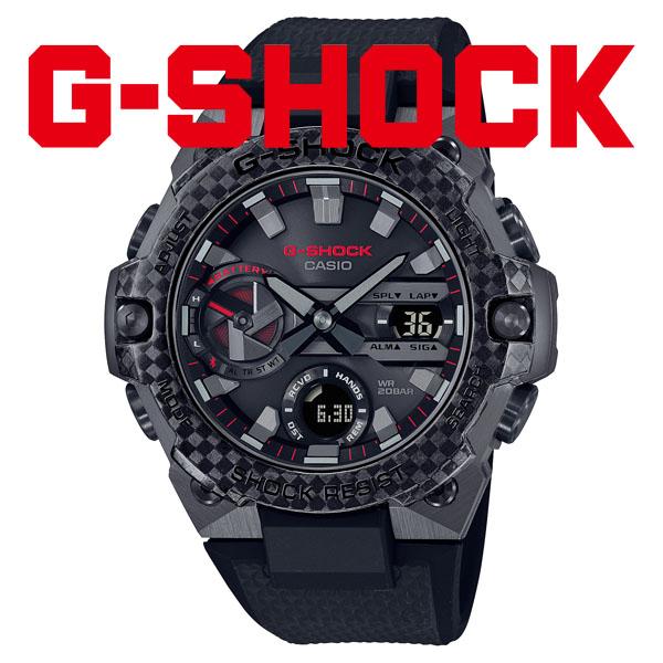 G-SHOCK Gショック ソーラー 腕時計 メンズ CASIO カシオ 2021年9月 G-STEEL GST-B400X-1A4JF 54,0