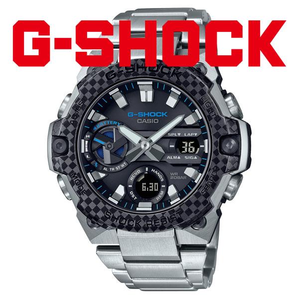 G-SHOCK Gショック ソーラー 腕時計 メンズ CASIO カシオ 2021年9月 G-STEEL GST-B400XD-1A2JF 54,0