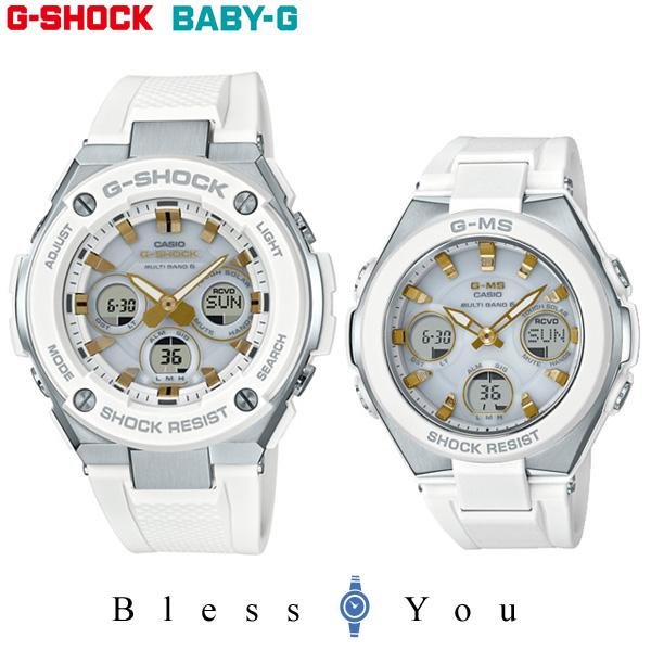 ペアウォッチ Gショック&ベビーG 電波 ソーラー G-shock & Baby-G GST-W300-7AJF-MSG-W100-7A2JF 65,0