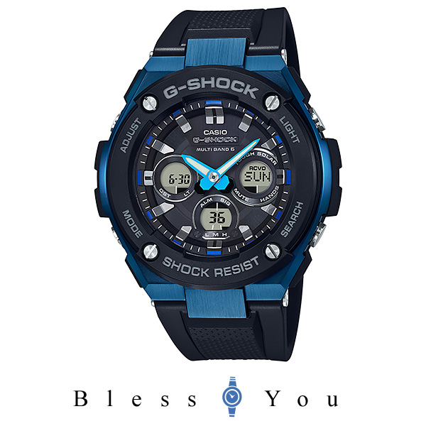 カシオ Gショック メンズ 腕時計 タフソーラー電波時計 GST-W300G-1A2JF 40,0 新品お取り寄せ