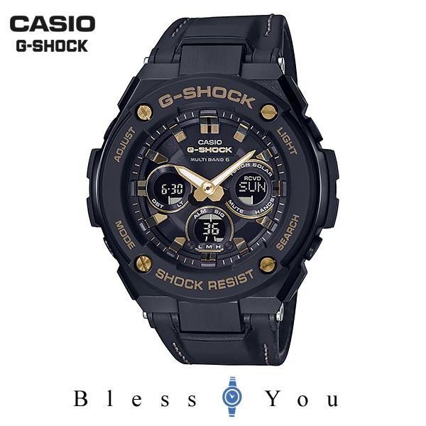 CASIO G-SHOCK カシオ ソーラー電波 腕時計 メンズ Gショック 2019年3月新作 G-STEEL GST-W300GL-1AJF 42,0