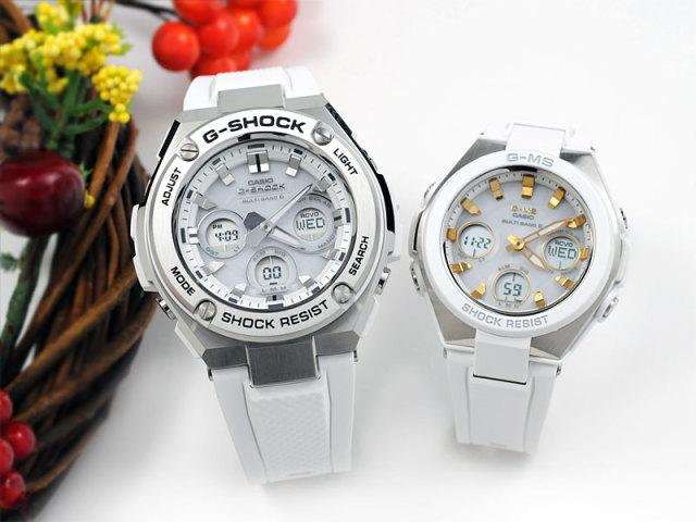 CASIO ペアウォッチ Gショック 電波 ソーラー G-shock & Baby-G GST-W310-7AJF-MSG-W100-7A2JF 70,0