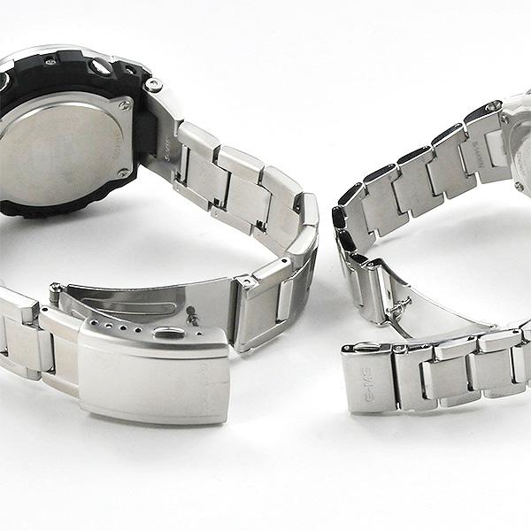カシオ ペアウォッチ 電波ソーラー 腕時計 Gショック&ベビーG G-shock&Baby-G GST-W310D-1AJF-MSG-W100D-7AJF 80,0