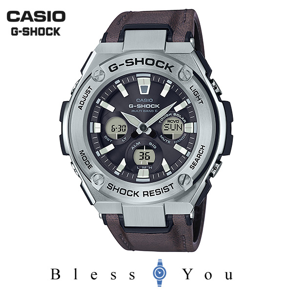 CASIO G-SHOCK カシオ ソーラー電波 腕時計 メンズ Gショック 2019年3月新作 G-STEEL GST-W330L-1AJF 41,0