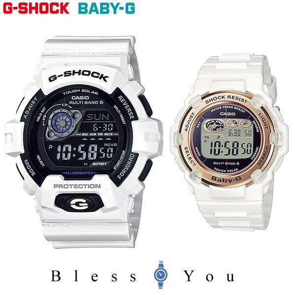CASIO G-SHOCK BABY-G カシオ ソーラー電波 ペアウォッチ Gショック&ベビーG GW-8900A-7JF-BGR-3003-7AJF 41,0