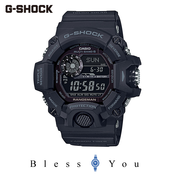 CASIO G-SHOCK カシオ ソーラー電波 腕時計 メンズ Gショック 2020年1月新作 RANGEMAN GW-9400J-1BJF 48,0