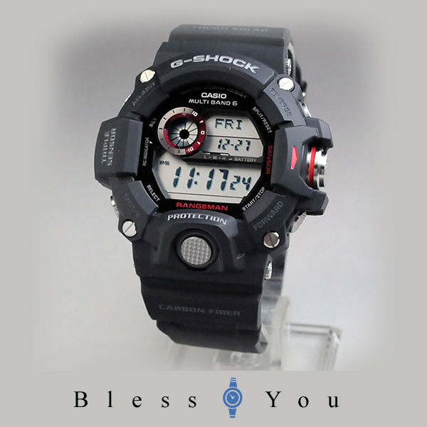 [カシオ]G-SHOCK MASTER OF G レンジマン トリプルセンサーVer.3搭載 世界6局電波対応ソーラーウォッチ GW-9400J-1JF