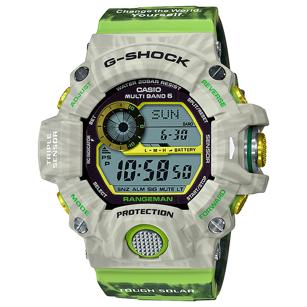 CASIO G-SHOCK カシオ ソーラー電波 腕時計 メンズ Gショック 2019年2月新作 アースウォッチ カカポ GW-9404KJ-3JR 53,5
