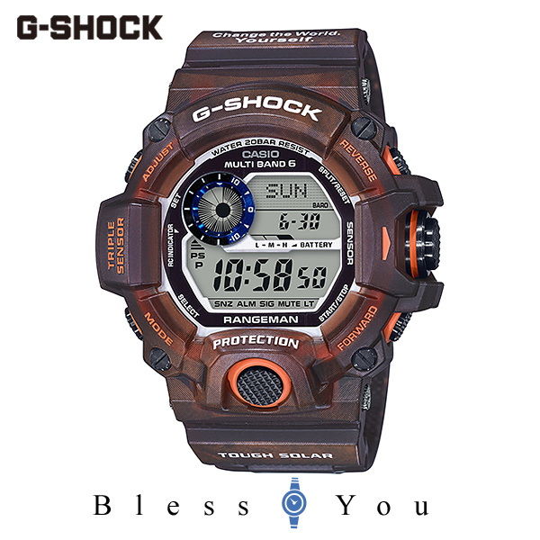 CASIO G-SHOCK カシオ ソーラー電波 腕時計 メンズ Gショック 2019年11月新作 GW-9405KJ-5JR 55,0