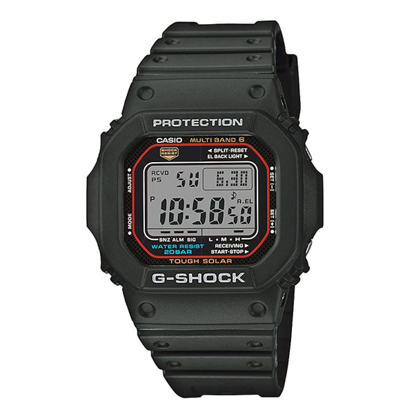 腕時計GW-M5610-1JFと置時計DQD-5000J-1JFのセット品 G-SHOCK GW-M5610-1JF-DQD-5000J-1JF