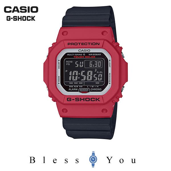 CASIO G-SHOCK カシオ ソーラー電波 腕時計 メンズ Gショック 2019年5月新作 GW-M5610RB-4JF 20,0