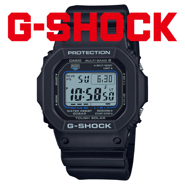 [カシオ]CASIO 腕時計 G-SHOCK ジーショック タフソーラー 電波時計 MULTIBAND 6 2021年10月 GW-M5610U-1CJF メンズ