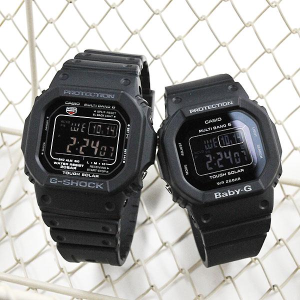 ペアウォッチ G-shock & Baby-G デジタルペア GW-M5610-1BJF-BGD-5000MD-1JF 39,0
