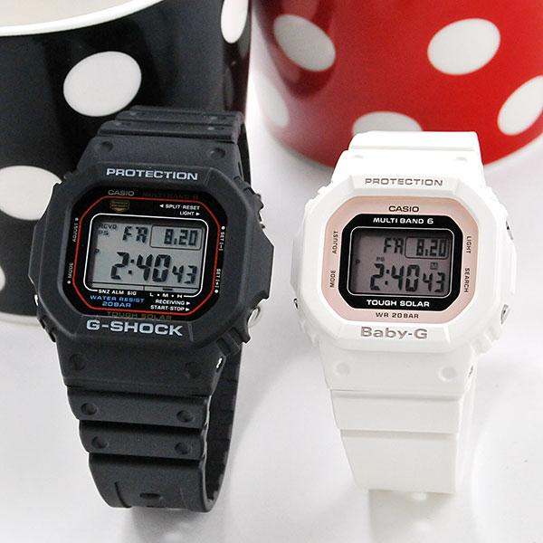 ペアウォッチ ジーショック デジタルペア G-shock & Baby-G GW-M5610U-1JF-BGD-5000U-7DJF 38,0