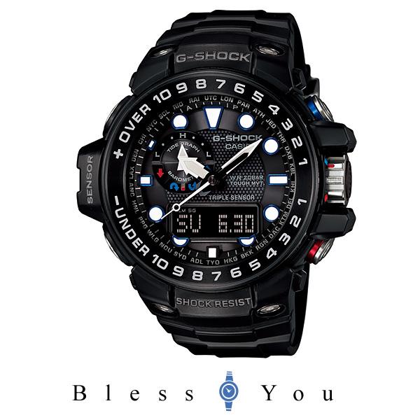 気圧計 [カシオ]CASIO 腕時計 G-SHOCK GULFMASTER トリプルセンサー GWN-1000B-1AJF メンズ